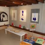 Alcune opere di Luciano Chinese in mostra alla Galleria ItinerArte di Venezia