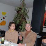 Luciano Chinese con Alan Jones e la moglie a pranzo nella csa studio di Luciano Chinese