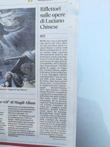 """""""Il Gazzettino"""" di Venezia 9 settembre 2018"""